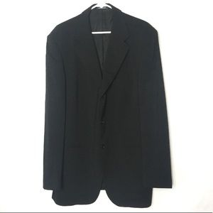 Missoni Black Blazer Suit Jacket 3-Button 40M